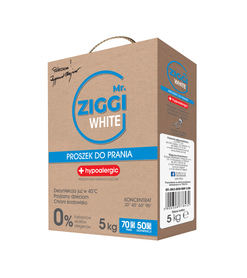 Proszek hipoalergiczny do prania Mr. ZIGGI White 5 kg