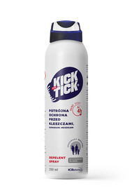 KICK THE TICK Max Repelent Plus 200 ml - spray na komary i kleszcze