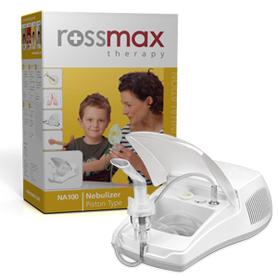 ROSSMAX Inhalator tłokowy NA 100 ze smoczkiem - Inhalatory