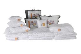 HOLLOFIL ALLERBAN Kołdra zimowa 160x200+2x70/80 + gratis 2x40/40 - Zestawy antyroztoczowe