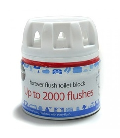 ECOZONE Forever Flush do 2000 spłukań - kostka do toalety - Środki do sprzątania