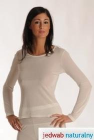 DermaSilk Koszulka z długim rękawem damska