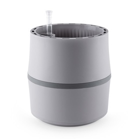 Biofiltr Airy S - doniczka oczyszczająca powietrze jasno-szary/szary