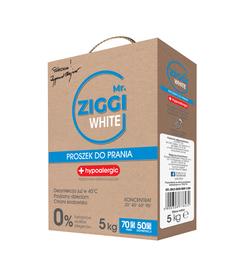 Proszek hipoalergiczny do prania Mr. ZIGGI White 5 kg - Preparaty na roztocza
