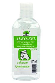 Żel antybakteryjny do mycia rąk bez użycia wody 500 ml