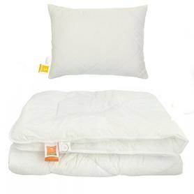 Kołdra antyalergiczna 100x160 całoroczna + poduszka 40x60 HOLLOFIL ALLERBAN