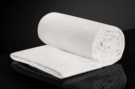 Kołdra jedwabna w poszyciu bawełnianym całoroczna 100x135 MALBERY