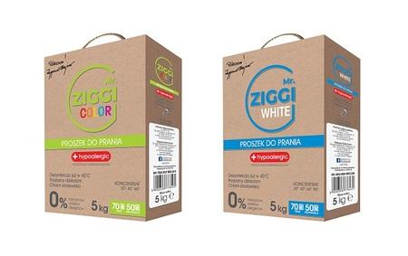 Proszek hipoalergiczny do prania Mr. ZIGGI Color 5 kg + White 5 kg (1)