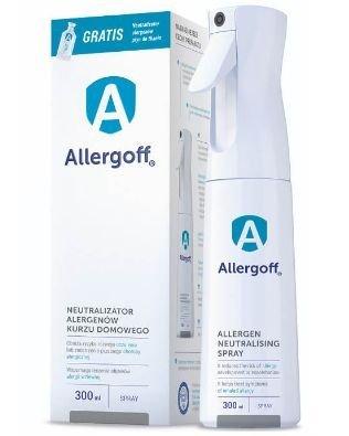 ALLERGOFF Spray 300 ml Neutralizator alergenów kurzu domowego