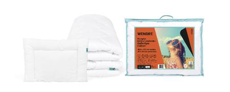 Kołdra dla dziecka 100x135 poduszka 40x60 Bullerbyn Cotton
