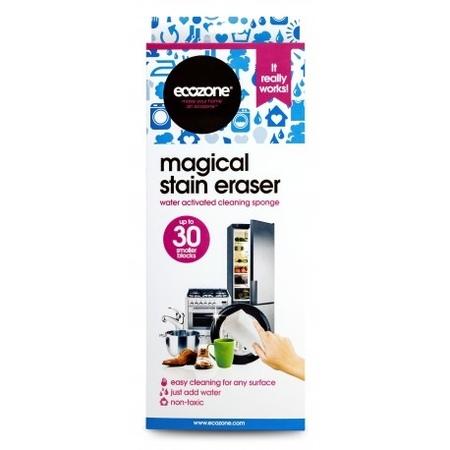 ECOZONE Stain Eraser Gąbka czyszcząca bez użycia detergentów (1)