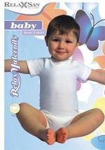 Body z krótkim rękawkiem z włóknem mlecznym (1)