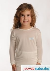 DermaSilk Koszulka z długim rękawem dziecięca