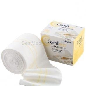 Bandaż, rękaw 1 m elastyczny, wiskozowy szer. 10,75 cm Linia Żółta leczenie AZS, egzemy, łuszczycy  (1)