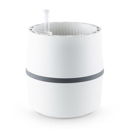 Biofiltr Airy S - doniczka oczyszczająca powietrze biały/szary