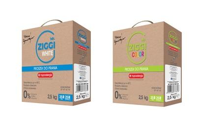 Proszek hipoalergiczny do prania Mr. ZIGGI Color 2,5 kg + White 2,5 kg