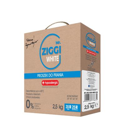 Proszek hipoalergiczny do prania Mr. ZIGGI White 2,5 kg