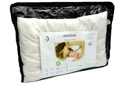 Poduszka antyalergiczna bawełniana Ecotton 40x60 (1)