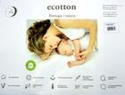 Poduszka antyalergiczna bawełniana Ecotton 40x60 (2)