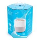 Biofiltr Airy S - doniczka oczyszczająca powietrze biały/szary (3)
