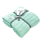 Kocyk bawełniany dzianinowy niemowlęcy 75x100