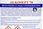 Płyn do dezynfekcji rąk i powierzchni Alkosept 70 5 L (2)
