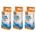 RAVI Rękawiczki antyalergiczne 10 szt, nitrylowe, bezlateksowe  (2)