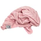 Kocyk bawełniany dzianinowy dziecięcy 75x100 różowy (2)