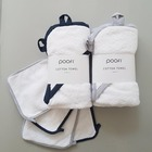 Ręcznik  bambusowy z kapturkiem dla dziecka 85x85 Poofi (7)